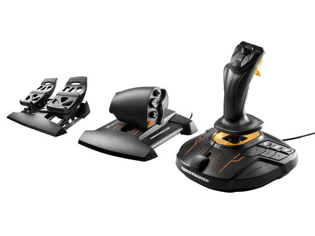 Thrustmaster T16000M FLIGHT PACK PC Botkormány