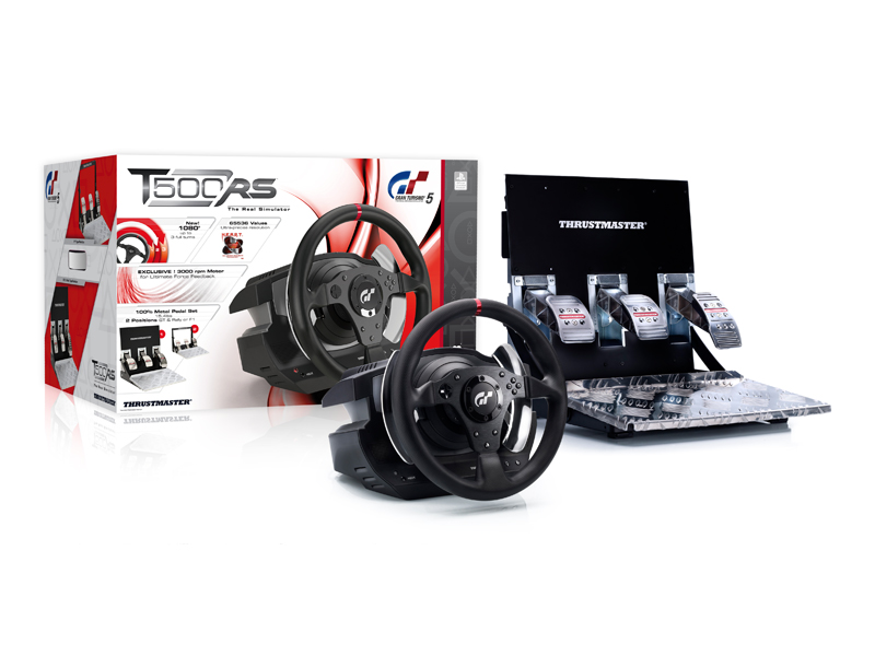Thrustmaster T500 RS GT6 PC, PS3, PS4
