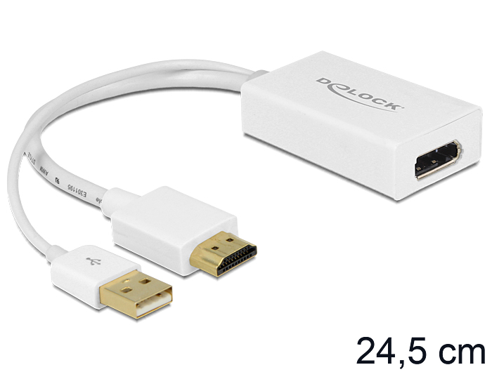 Delock HDMI-A apa > Displayport anya adapter