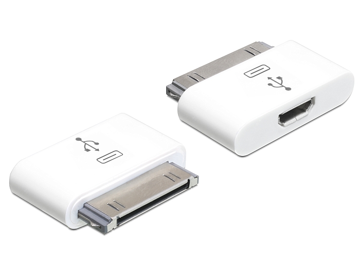 Delock adapter iPho  30 pin apa > USB micro-B anya