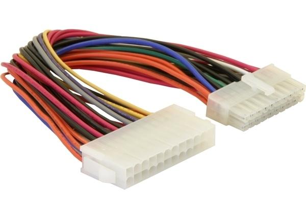 Delock ATX 24 tűs anya – ATX 20 tűs apa átalakító kábel