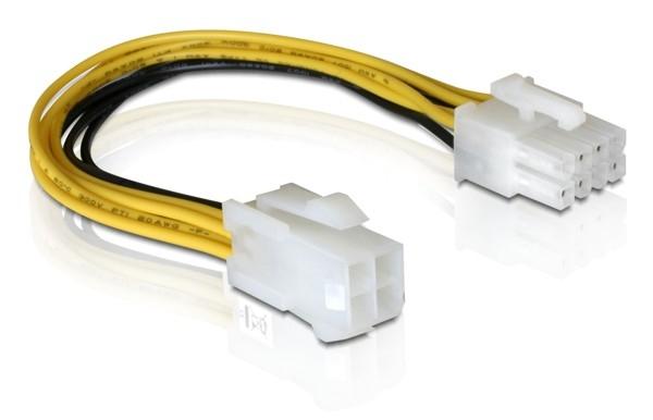 Delock PCI Express (hálózati, 8 tűs, EPS) -  4 tűs ATX P4 kábel