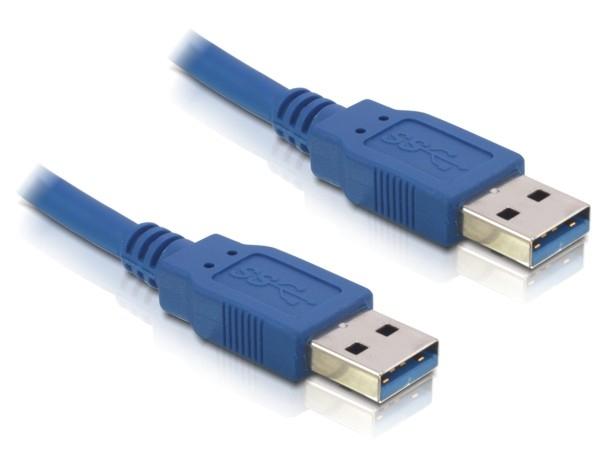 Delock USB3.0-A (apa/apa), 5 méteres hosszabbító kábel