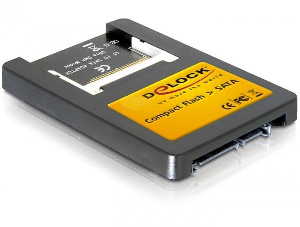 """Delock SATA - Compact Flash meghajtó (2.5"""")"""