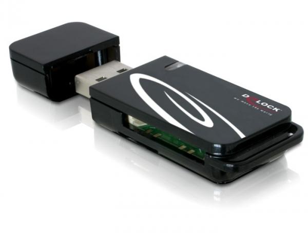 Delock 18-az-1-ben USB (2.0) kártyaolvasó