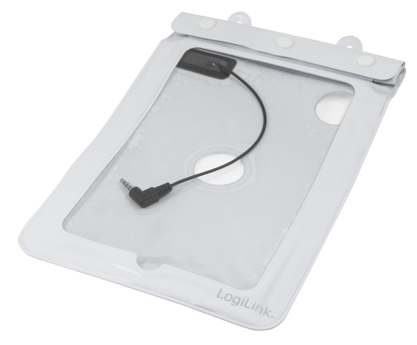 LogiLink vízálló Tablet tok 7''-ig (fehér)