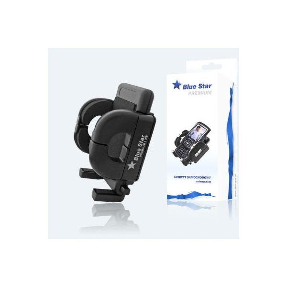 Blue Star szellőzőrácsra rögzíthető univerzális autós telefon/gps tartó