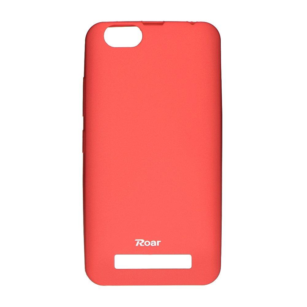 Roar Colorful Jelly Case - LEN Vibe C peach pink