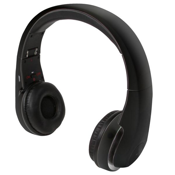 LogiLink Bluetoothos fejhallgató, fekete