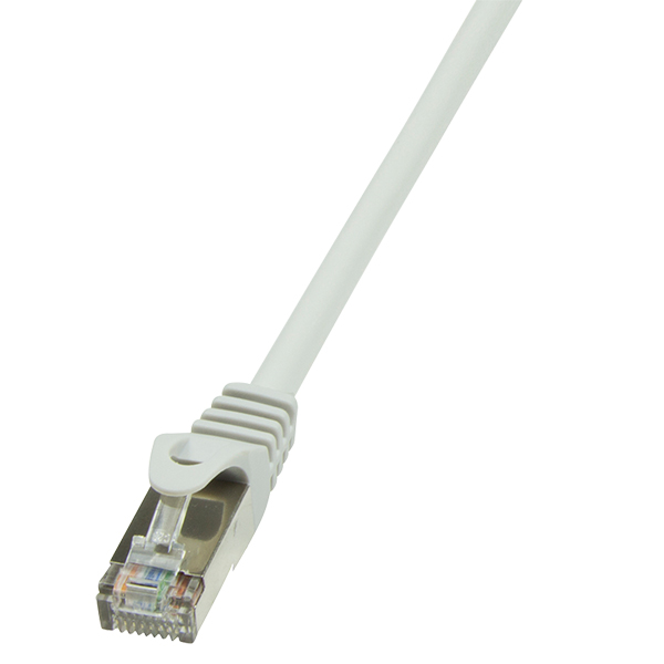 LogiLink CAT6 F/UTP Patch kábel EconLine AWG26 grey 0,50m