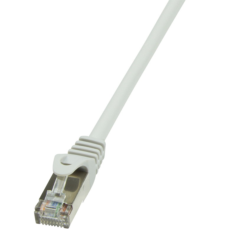 LogiLink CAT6 F/UTP Patch kábel EconLine AWG26 grey 2,00m