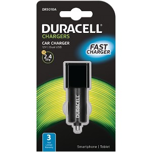 Duracell 2 x 2.4A USB In-Car Charger