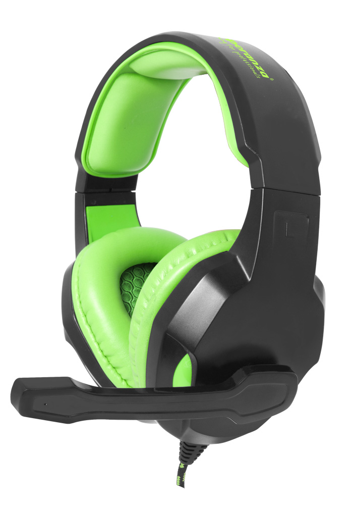 ESPERANZA STEREO HEADPHONES WITH MICROPHONE FOR GAMERS COBRA
