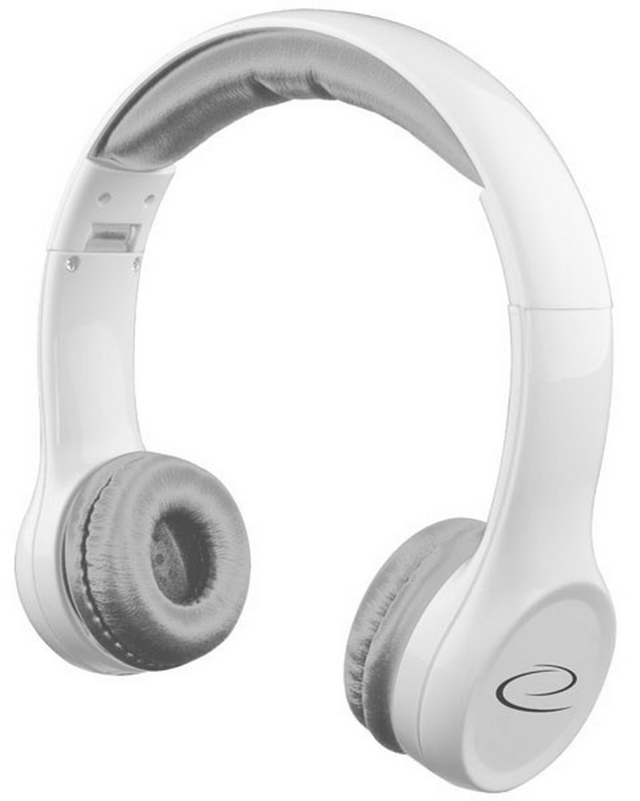 ESPERANZA Összehajtható sztereó fejhallgató (fehér)