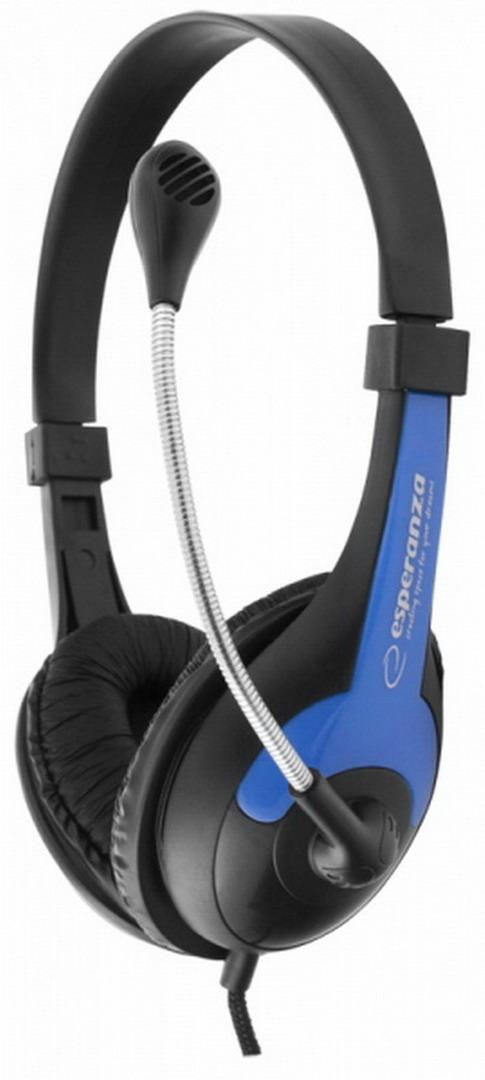 ESPERANZA ROOSTER headset kék