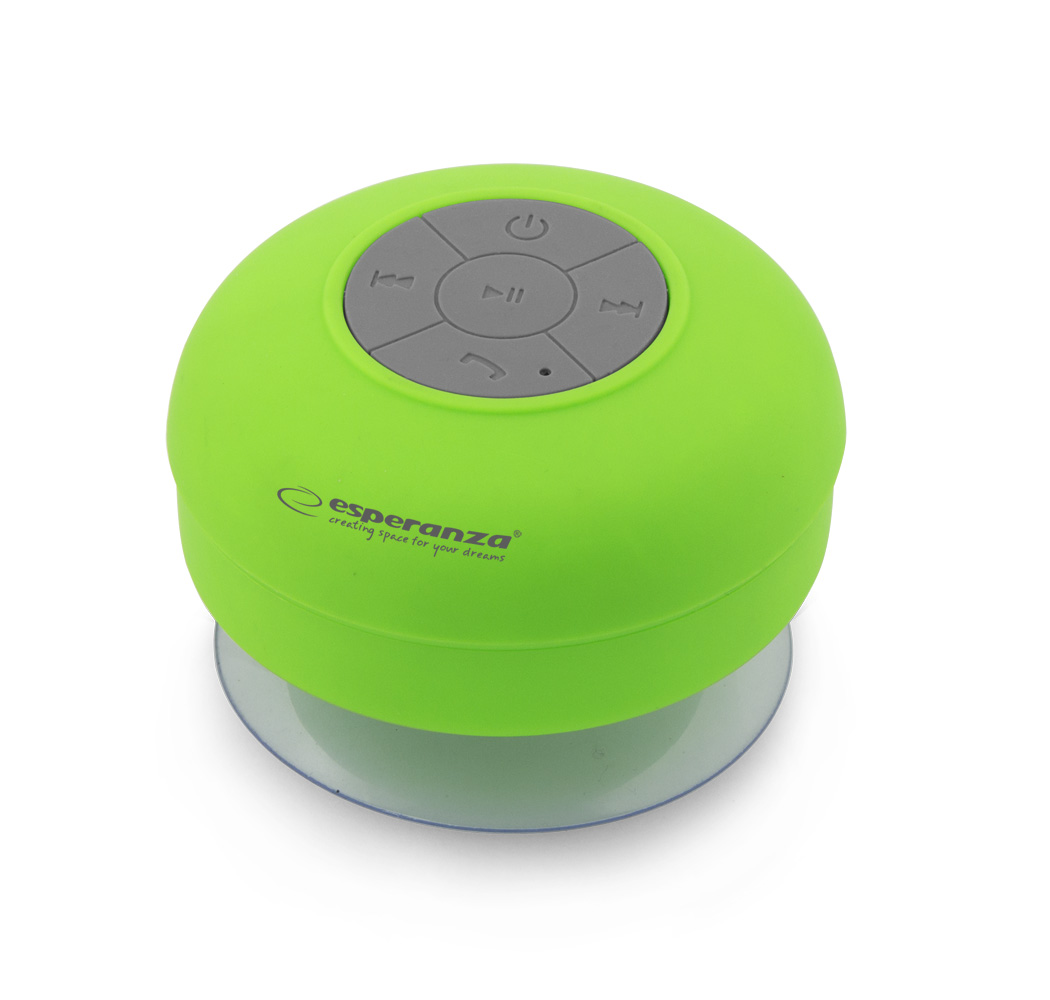 ESPERANZA SPRINKLE BLUETOOTH SPEAKER GREEN