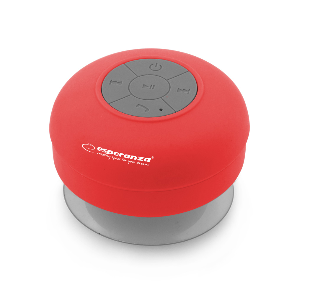 ESPERANZA SPRINKLE BLUETOOTH SPEAKER RED