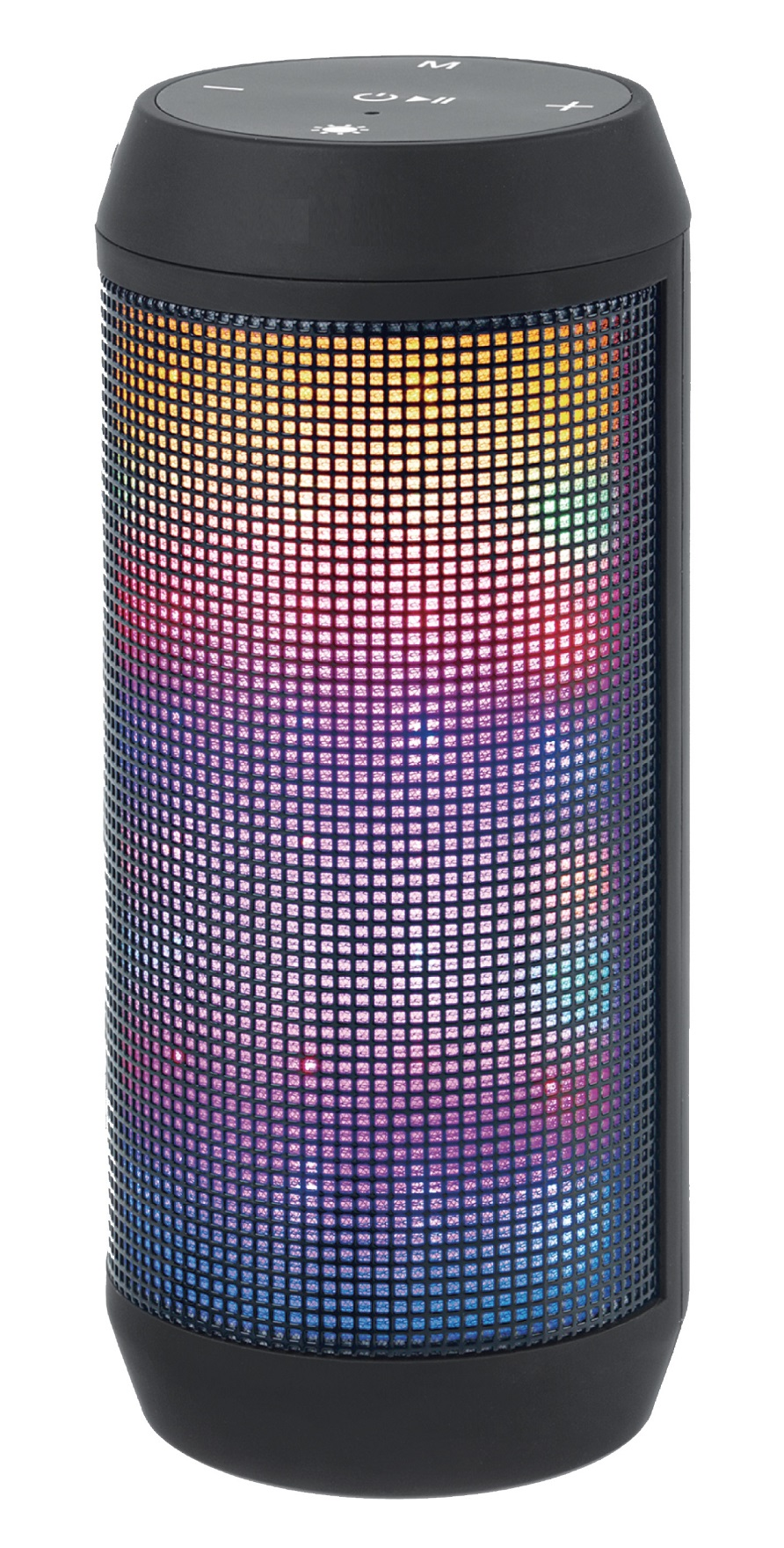 BLUETOOTH SPEAKER WITH BUILT-IN FM RADIO AND LED LIGHT FADO