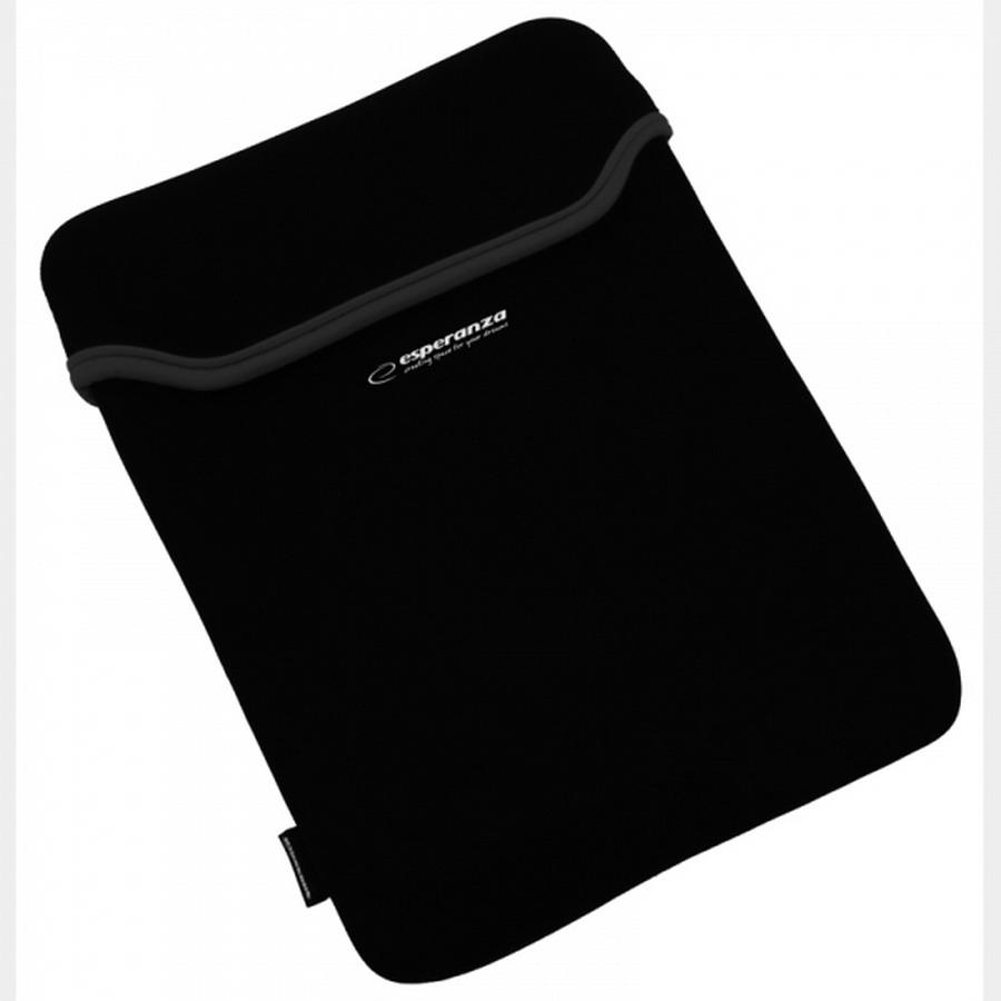 ESPERANZA 7'' tablet neopren tok (fekete)
