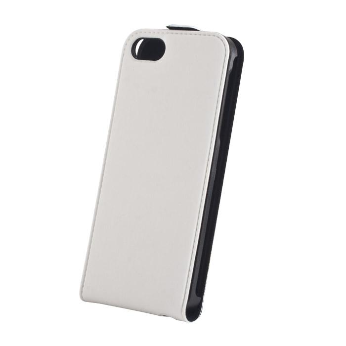 Flip case Premium (iPho 5) Fehér