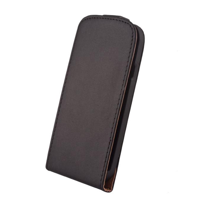 Leather case Elegance (LG G3) Fekete