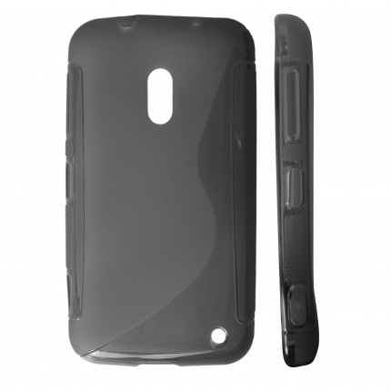 GT Back Cover ''S-Case'' Nokia 620 Lumia fekete