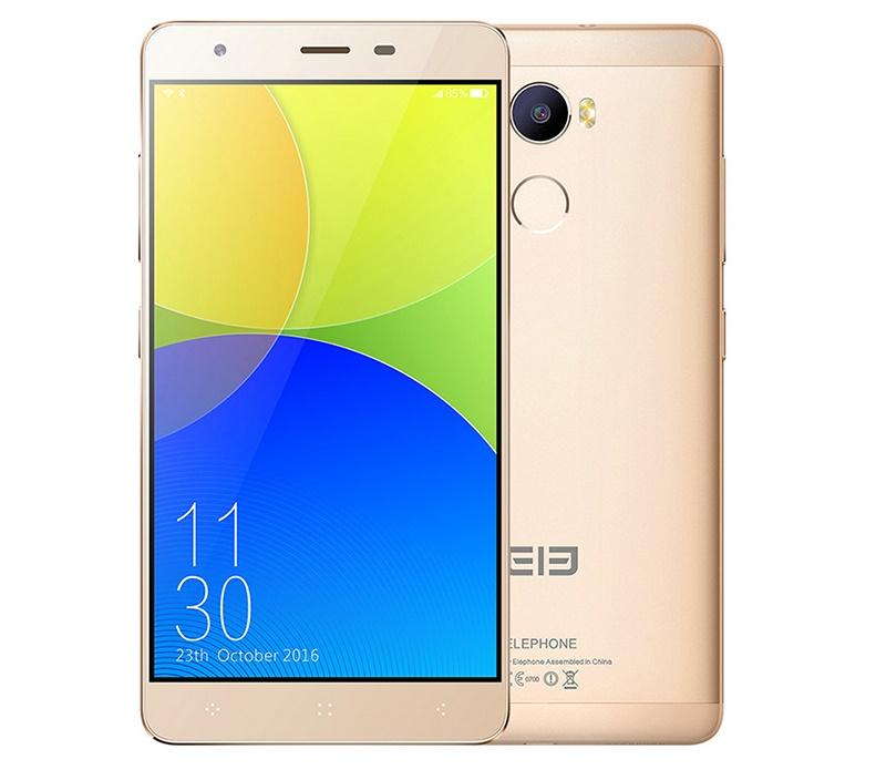 Elephone C1 Dual SIM kártyafüggetlen okostelefon, arany
