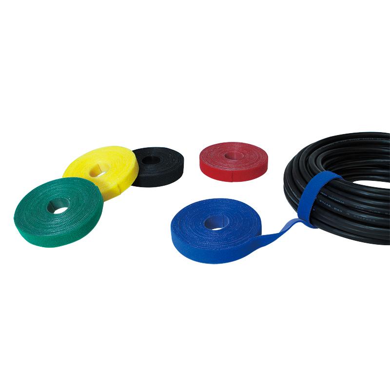 LogiLink vágható tépőzáras kábelkötegelő, 4m x 16mm - sárga
