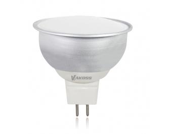 Vakoss LED fényforrás 4.5W MR 16, GU5.3, 330lm, 3000K meleg fehér
