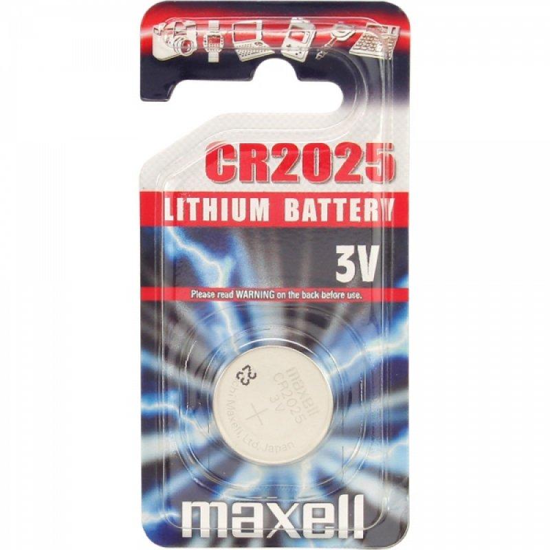 Maxell CR2025 3V-os lítium gombelem