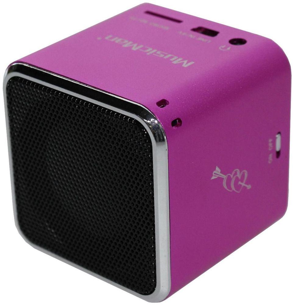 MusicMan Mini Zeneállomás Rózsaszín