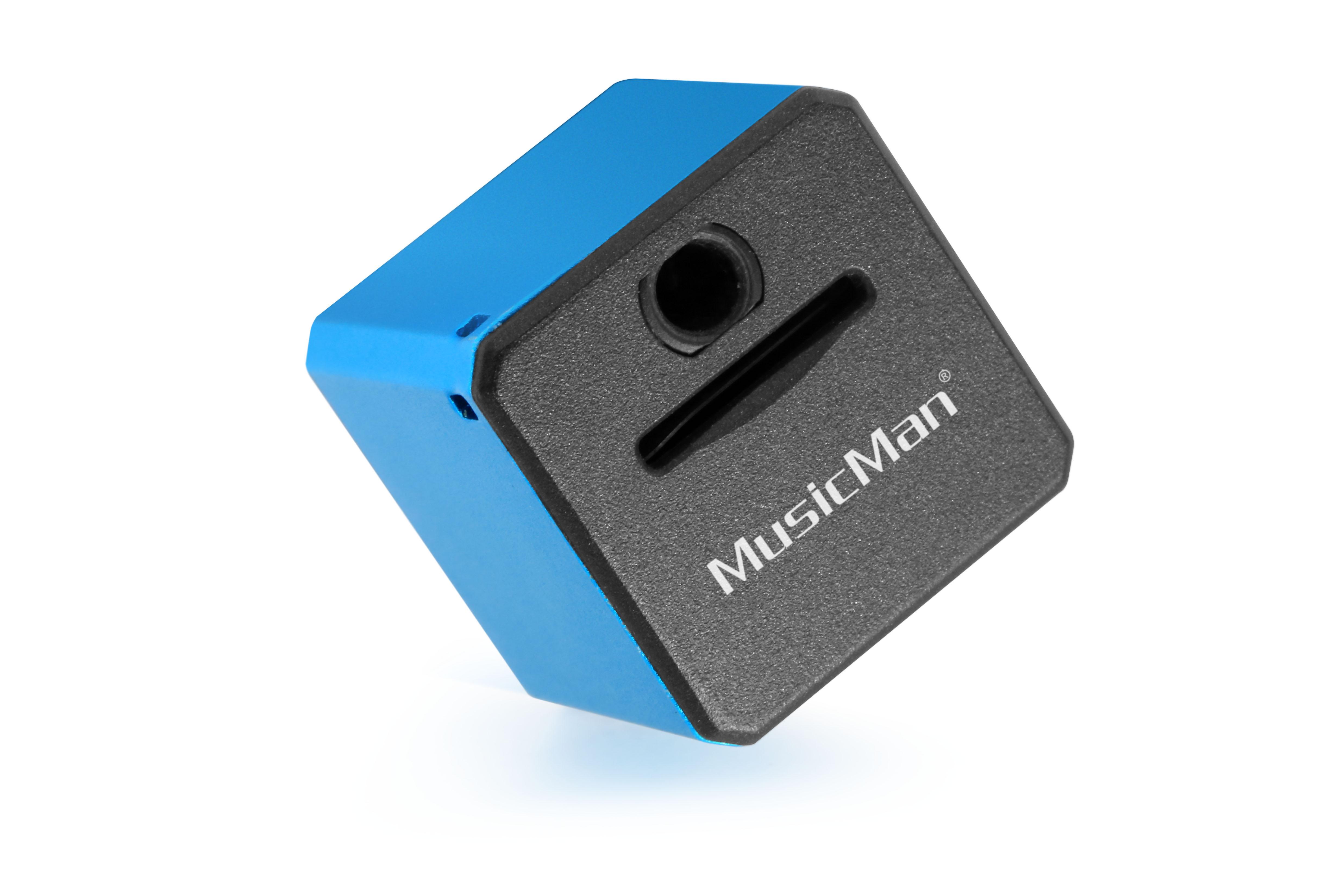 MusicMan Mini Style MP3-Player TX-52 Blue