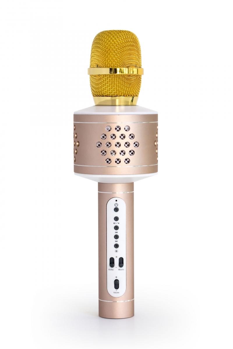 MusicMan Karaoke Microphone PRO BT-X35 Gold