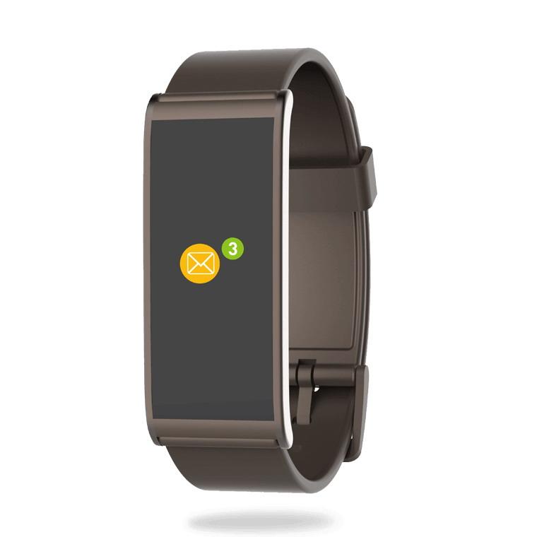 MYKRONOZ Smartwatch ZeFit4 barna