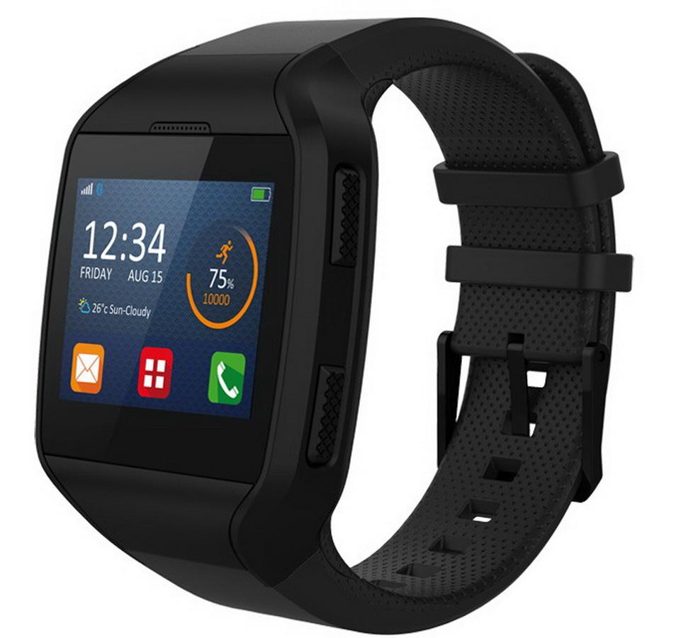MYKRONOZ Smartwatch ZePhone fekete