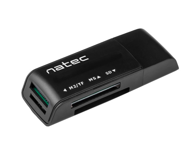 NATEC ANT 3 SDHC USB 2.0 CARD READER BLACK