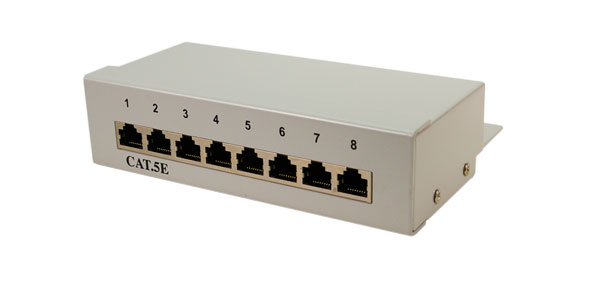 LogiLink CAT5e Patch Panel,FTP,8-Port