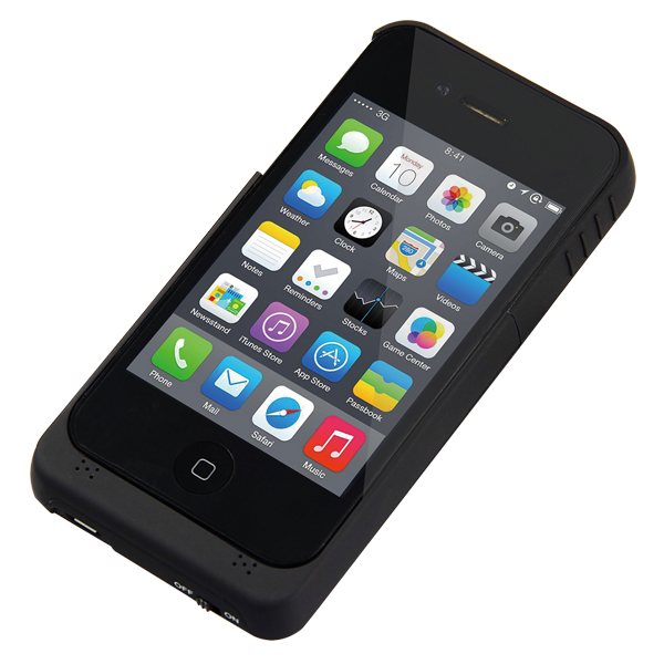 LogiLink Védőtok iPhone4/4S telefonhoz beépített akkumulátorral (1900 mAh)