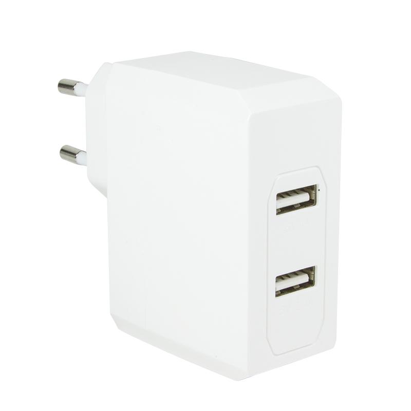 Logilink hálózati 2 portos USB töltő (3,4A)