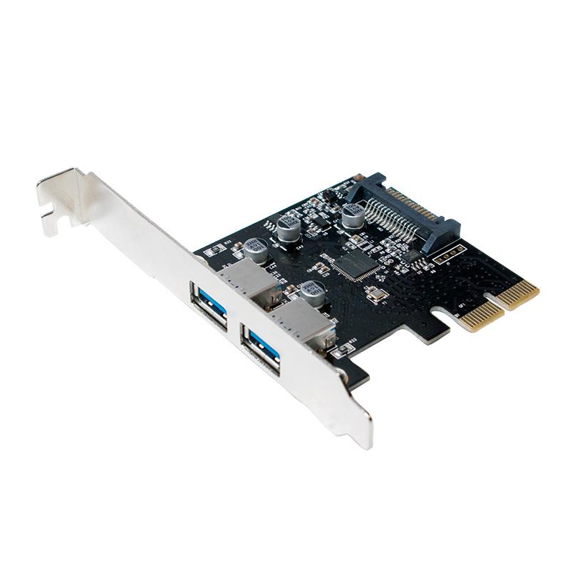 LogiLink USB 3.1-es 2 portos Express Card