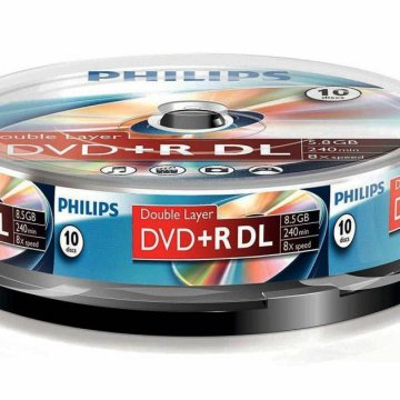 Philips DVD+R85DLCBx10 Cake