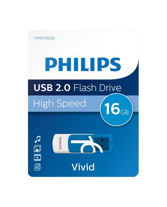 Philips Vivid 16Gb USB Flash Drive