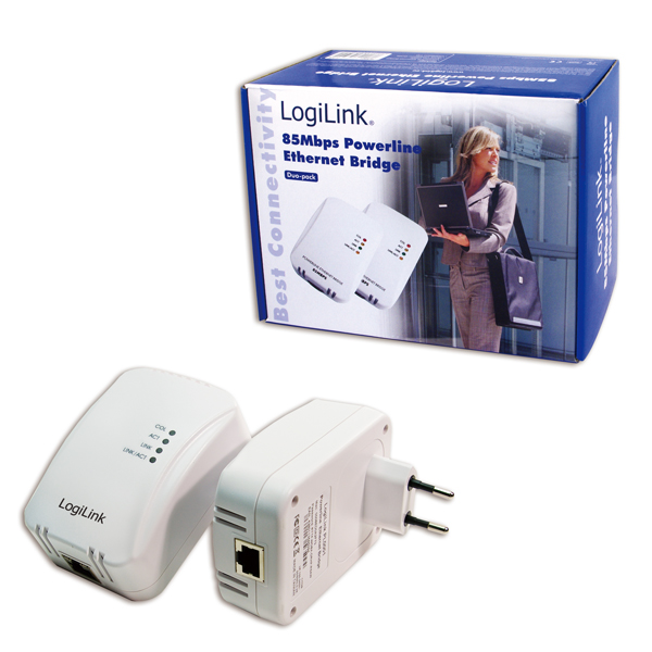 Logilink Powerline adapter készlet 85 Mbps