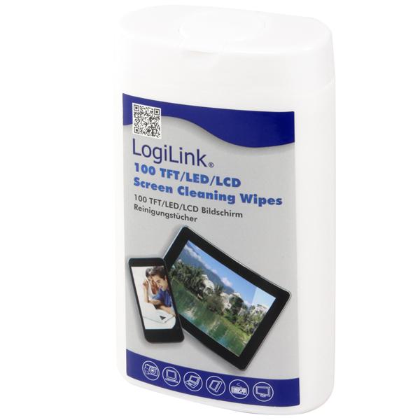 LogiLink TFT, LCD és plazma képernyő tisztító kendők