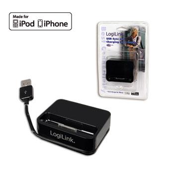 Logilink USB szinkronizáló és töltő dokkoló állomás