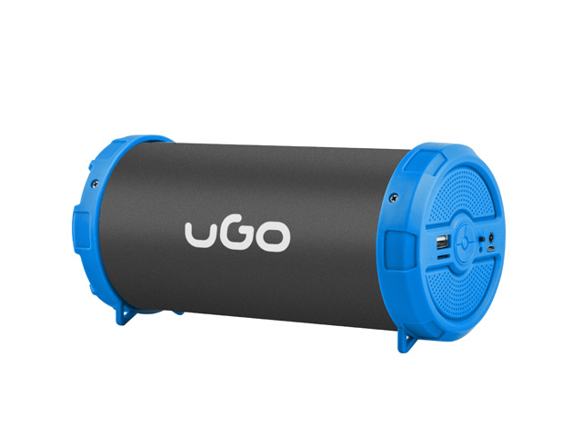 UGO WIRELESS SPEAKER MINI BAZOOKA BLUETOOTH BLUE+MICROPHONE