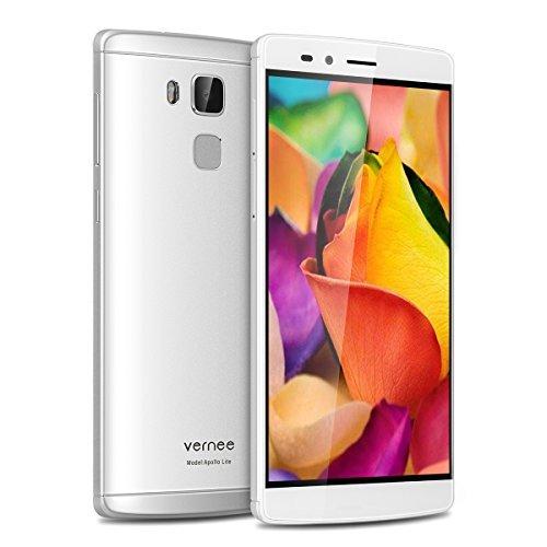Vernee Apollo Lite ezüst mobiltelefon