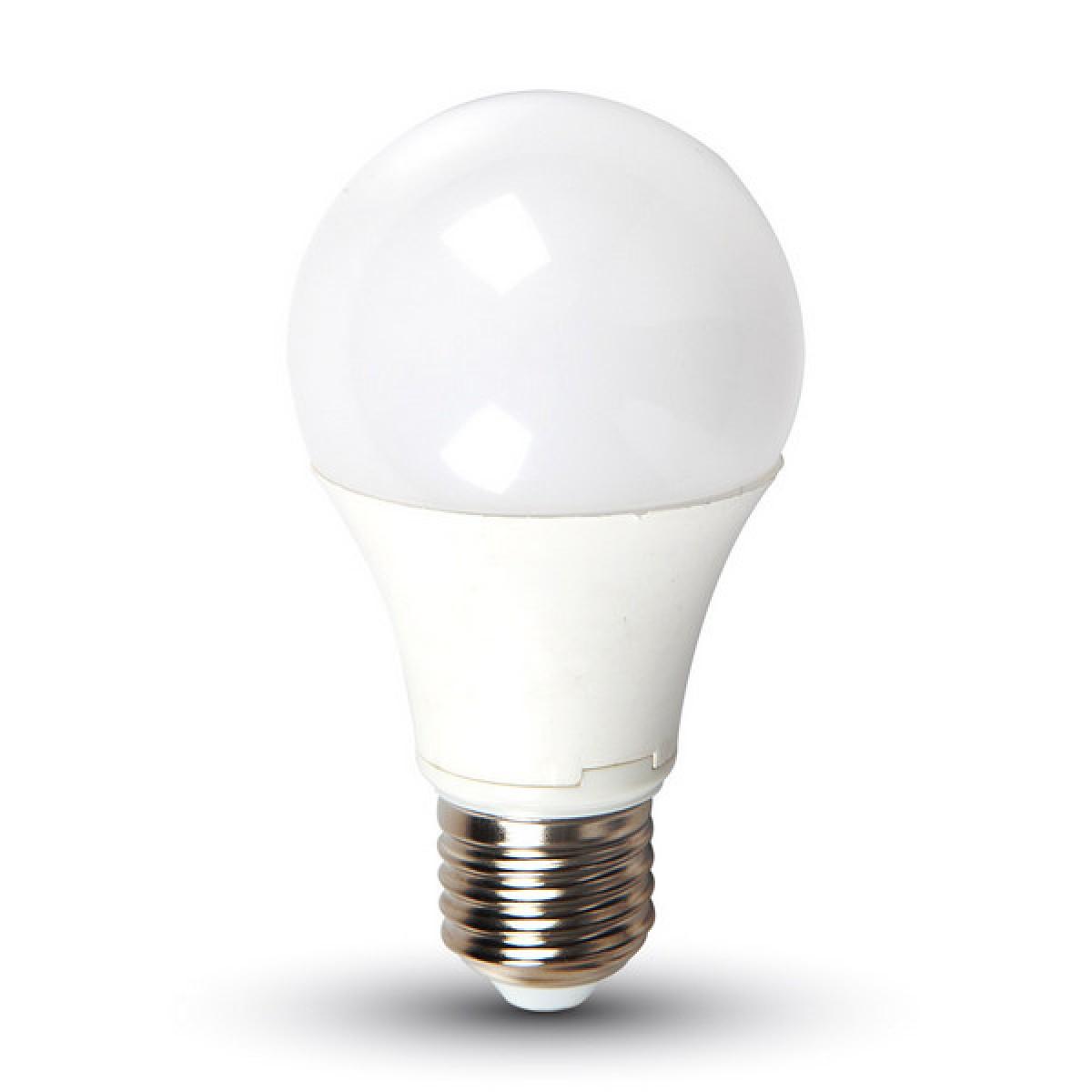 V-TAC 12W E27 A60 Thermoplastic – 4000-4500K LED izzó